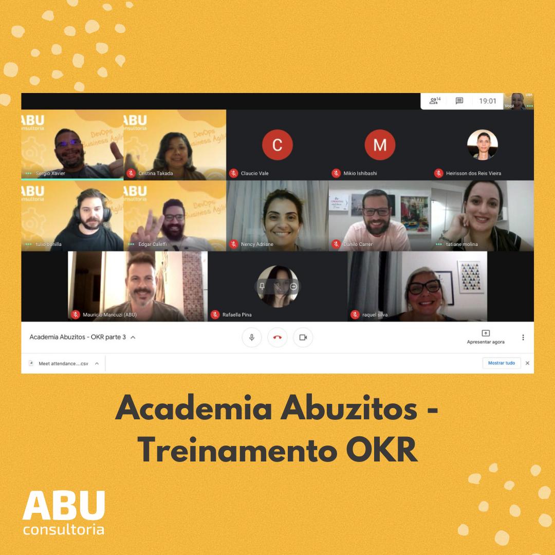 Academia Abuzitos - Treinamento OKR